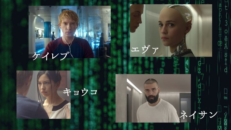 Ex Machina_cast